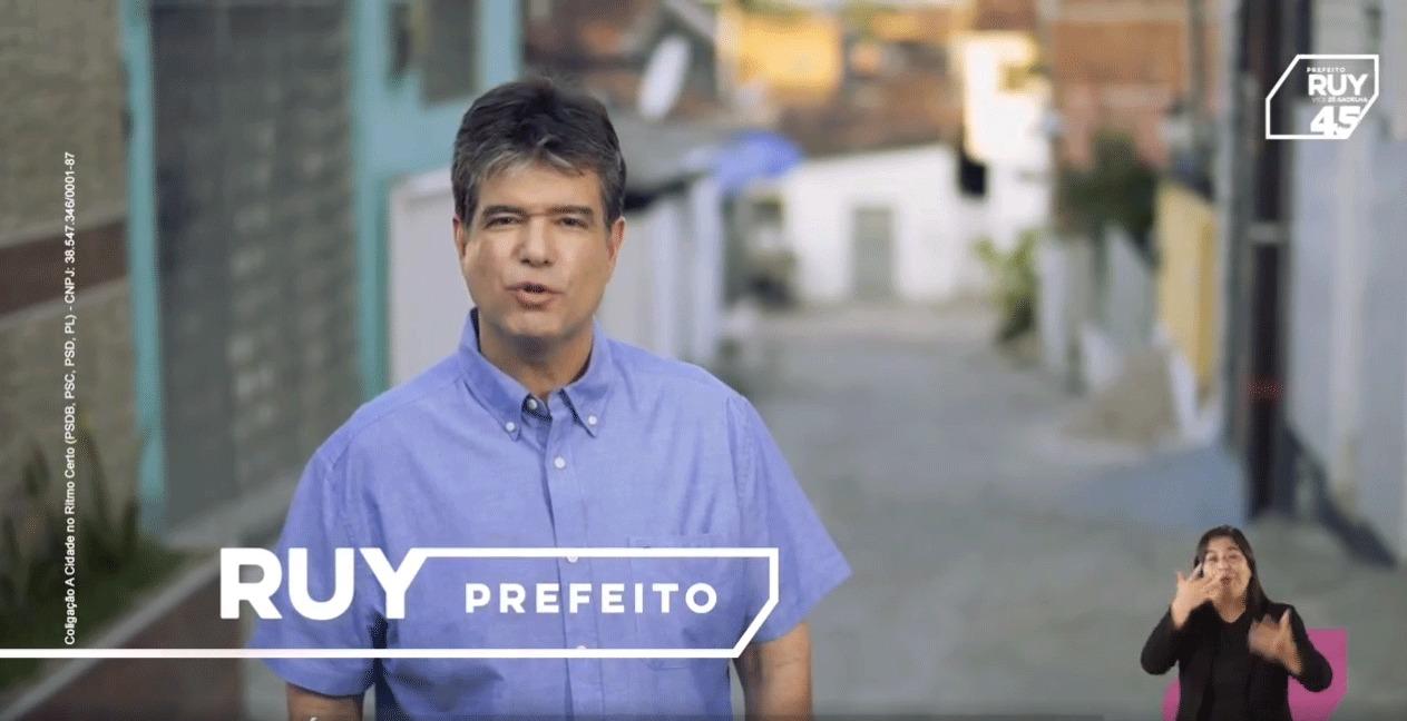 WhatsApp Image 2020 10 09 at 18.04.30 - Guia eleitoral de Ruy Carneiro mostra ações e trabalho do candidato