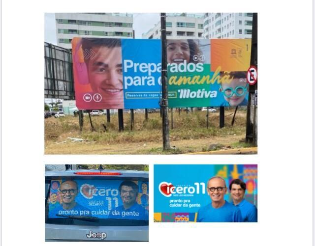 WhatsApp Image 2020 10 14 at 15.15.46 1 - MESMA EMPRESA PUBLICITÁRIA: Juiz decide multa por cada outdoor para Cícero Lucena