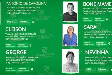 ELEIÇÕES 2020: município da Paraíba tem seis candidaturas indeferidas; confira