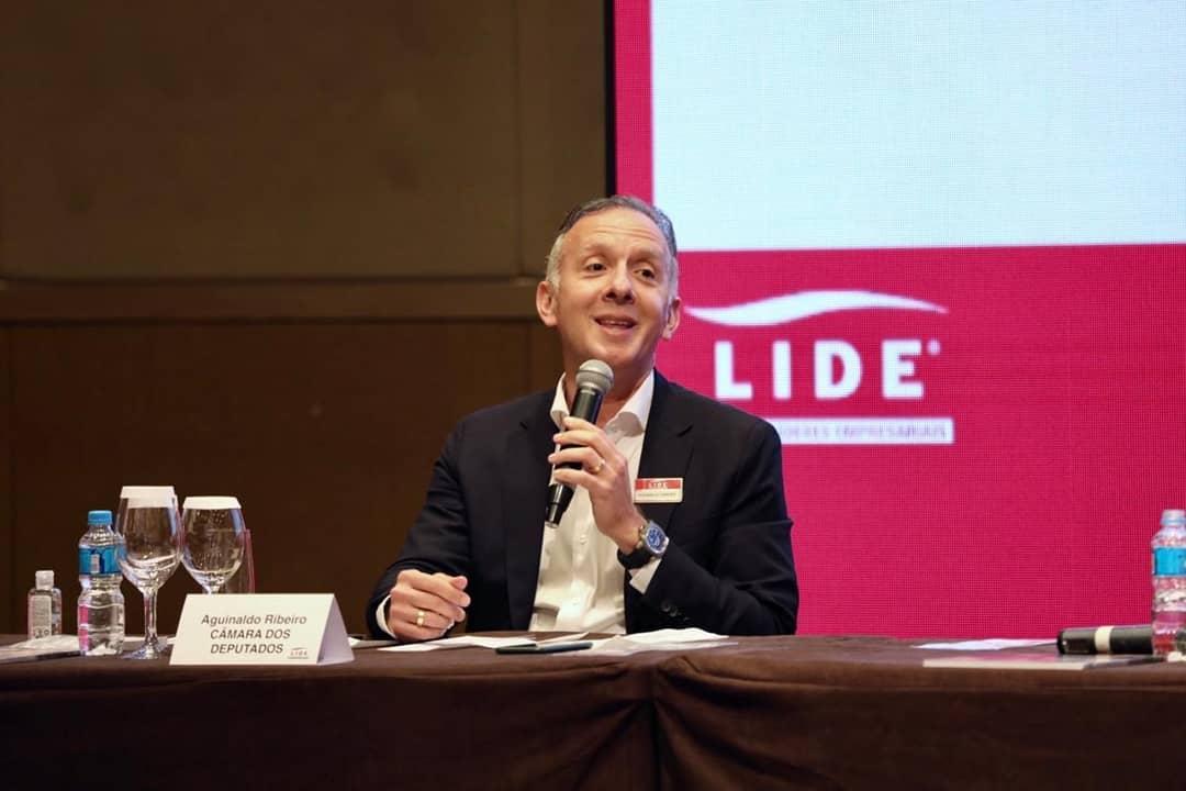 aguinaldo - Aguinaldo Ribeiro defende a unificação de tributos em debate sobre a reforma Tributária