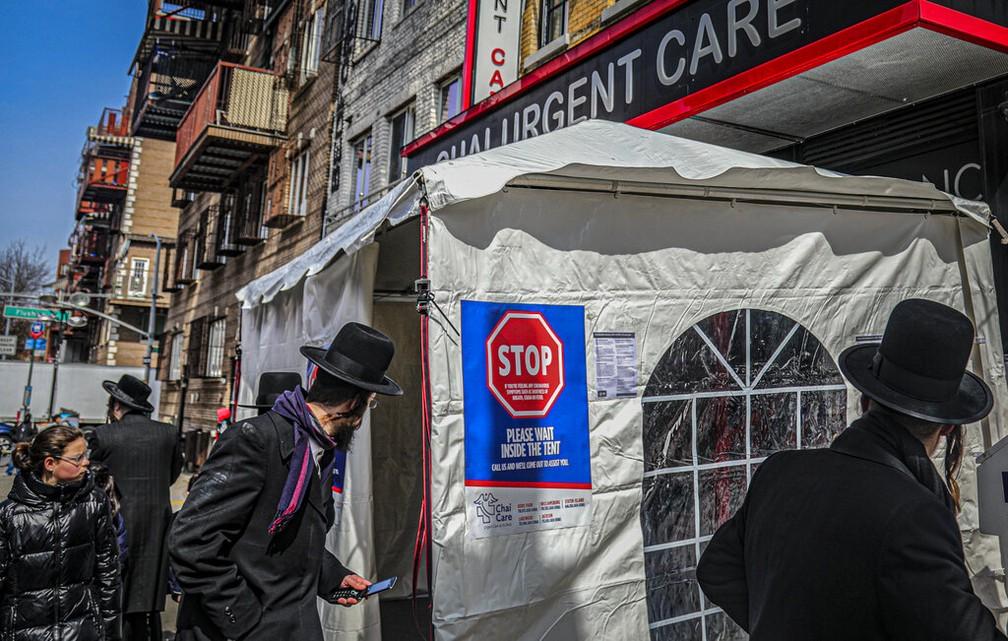 ap20278699094472 - DISSEMINAÇÃO DA COVID-19: Nova York planeja fechar escolas e estabelecimentos em 9 bairros