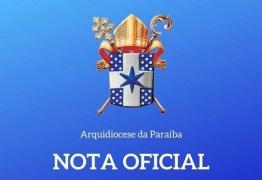 """Arquidiocese da Paraíba emite nota sobre desaparecimento de padre em João Pessoa: """"em oração"""" – LEIA NOTA"""
