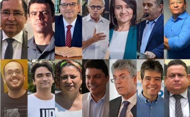 candidatos à PMJP 609x375 1 - Acompanhe a agenda dos candidatos a prefeito de João Pessoa neste domingo (25)