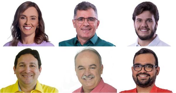 candidatos a prefeito de campina grande em 2020 1 - PESQUISA OPINIÃO: Bruno lidera com 37,2%; Inácio tem 17,2% e Ana 12,5%