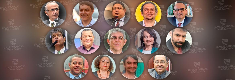 candidatos - ELEIÇÕES 2020: Pesquisa IBOPE aponta empate entre candidatos a prefeito de João Pessoa; veja os números
