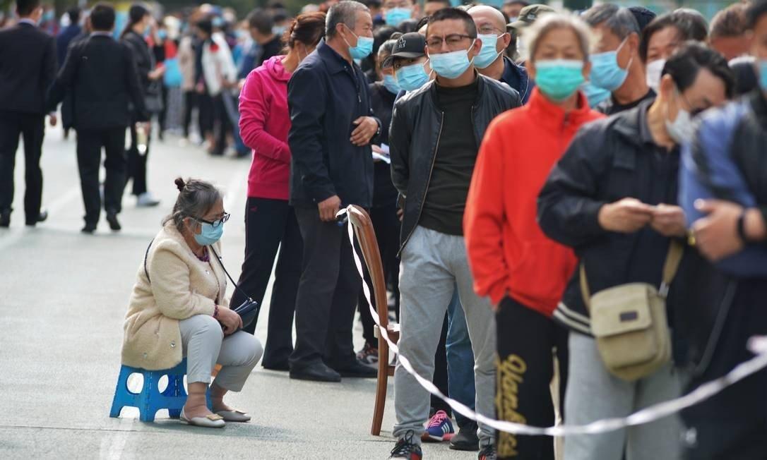 cidade chinesa - CORONAVÍRUS: Cidade chinesa irá testar 9 milhões de pessoas em apenas cinco dias