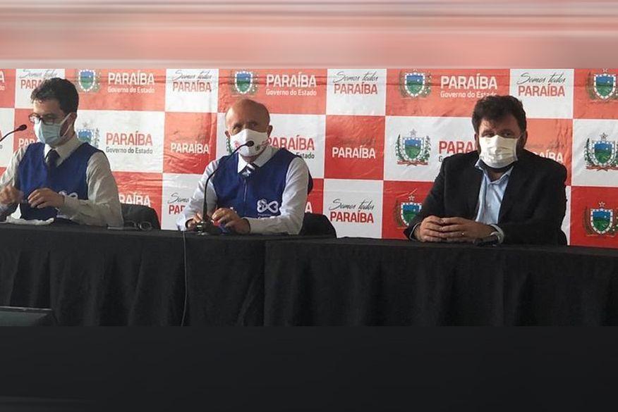coletiva saude - Covid-19: Secretaria de Saúde da Paraíba informa que testará 9.600 pessoas a partir do dia 3