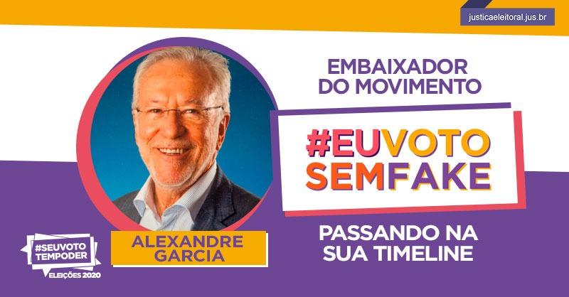 """ek f8gxxyaetp6p - Alexandre Garcia vira """"embaixador"""" de ação do TSE contra fake news e """"ciclo de ódio"""""""