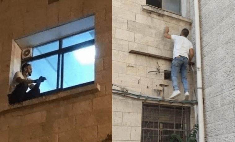 escalava janela - Palestino que escalou parede de hospital roubou corpo de mãe para enterro