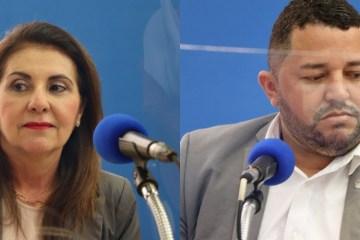 DEBATE BAYEUX NA ARAPUAN: Nadja critica acusações entre candidatos, e Inaldo denuncia campanha com uso do dinheiro público