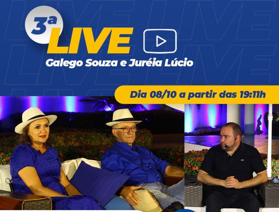 galegos - Candidato à prefeitura de São Bento, Galego Souza realiza nesta quinta-feira mais uma live para debater propostas e projetos para cidade
