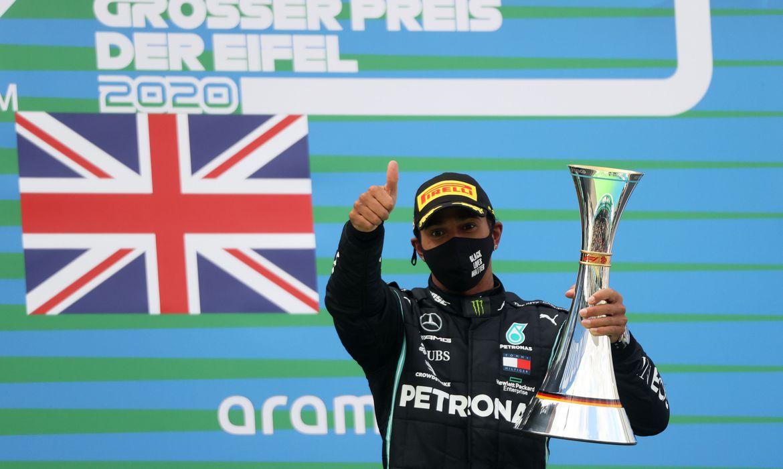 hamilton - Lewis Hamilton vence corrida na Alemanha e iguala recorde de Michael Schumacher