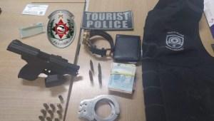 prisao ex pm pernambucano 300x170 - Expulso da PM por assaltar bancos, ex-policial pernambucano é preso na Capital suspeito de atirar em mulher