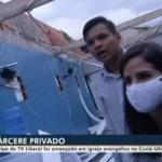 reporter refem igreja evangelica 450x282 1 - Repórter da Globo é mantida refém em igreja evangélica durante reportagem - VEJA VÍDEO