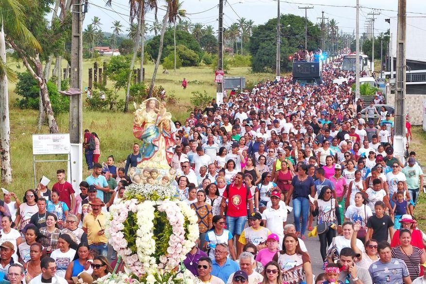 romaria da guia   clilson - Tradicional Romaria da Guia em Lucena é cancelada devido à pandemia do Coronavírus - VEJA VÍDEO