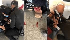 transferir 2 - REVOLTANTE: músico é agredido e sufocado por seguranças do Metrô-SP por cantar - VEJA VÍDEO