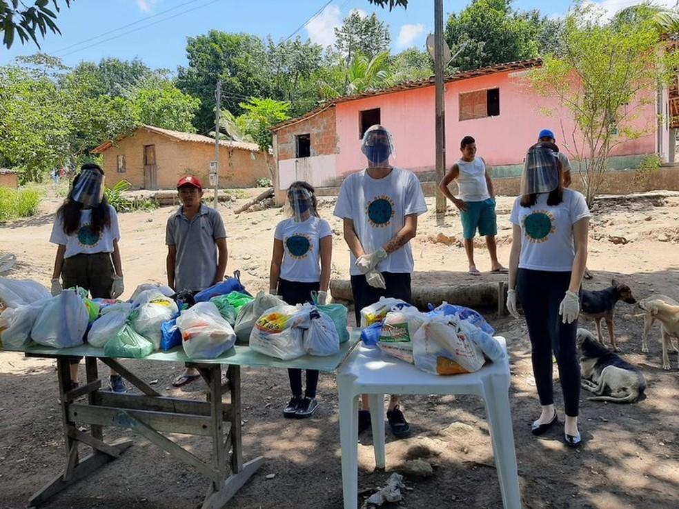 ufpb - Campanha da UFPB arrecada alimentos para doar a aldeias indígenas da PB