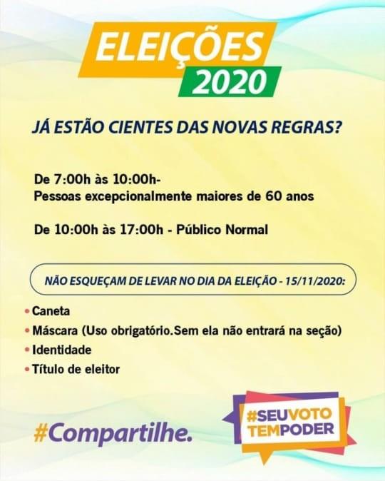 whatsapp image 2020 10 16 at 081023 - Idosos terão horário preferencial para votar, confirma vice-presidente do TRE-PB