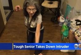 Idosa apelidada 'Lady Ninja' espanta invasor de sua casa com golpe de jiu-jitsu