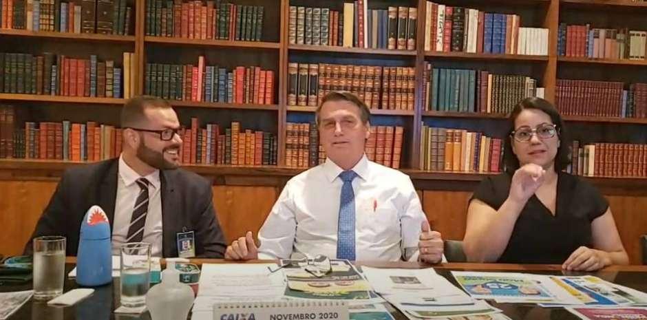 1604617175328 - Bolsonaro defende voto impresso para eleição de 2022