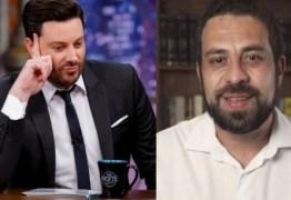 Danilo Gentili vira piada na web após postar fake news contra Guilherme Boulos