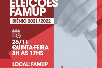 Eleições internas da Famup acontecem nesta quinta-feira em João Pessoa