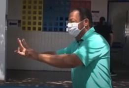 Nilvan vota acompanhado por José Maranhão e se diz confiante para o segundo turno