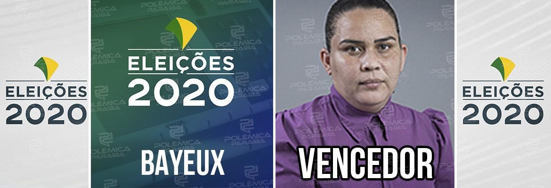 Bayeux Luciene - BAYEUX: Luciene Gomes é eleita prefeita com 82% das urnas apuradas