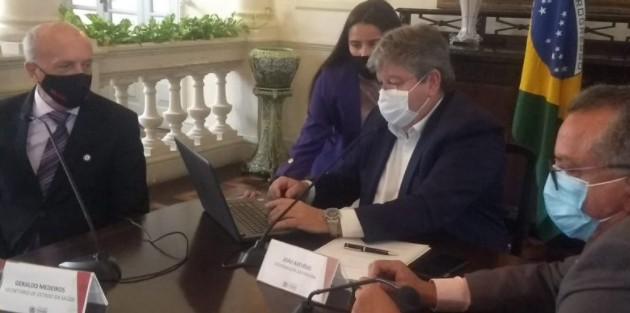 Captura de tela 2020 11 20 144435 - CLASSE ALTA E JOVENS: Governador alerta para novo perfil de contaminação do Coronavírus