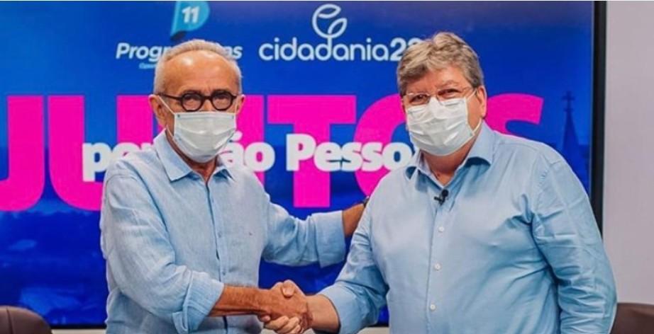 """Captura de tela 2020 11 28 193131 - ELEIÇÕES 2020! """"Eu preciso de Cícero para fazer mais por João Pessoa"""": diz João Azevêdo em vídeo; assista"""