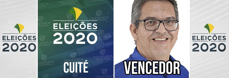 Cuité Charles - Charles Camaraense é reeleito prefeito de Cuité, na Paraíba