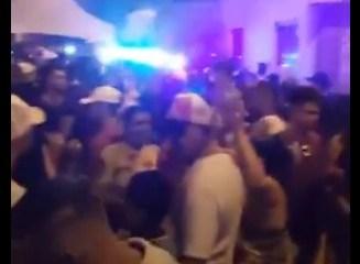 COMEMORANDO A VITÓRIA: vereador de Areia, na Paraíba, participa de festa com aglomeração e sem máscaras – VEJA VÍDEO