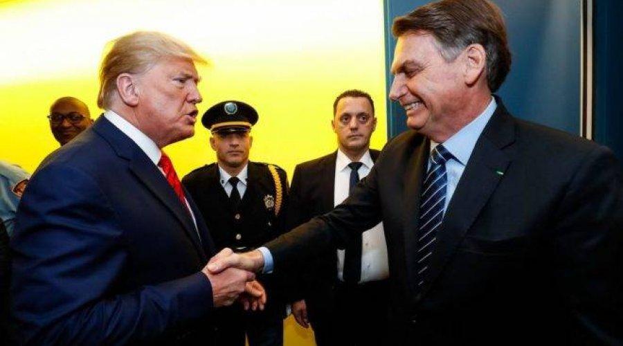 IMAGEM NOTICIA 1 - ISOLADO! Bolsonaro é único presidente a apoiar Trump na ONU em voto contra OMS