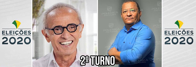 JP 2 turno Cícero e Nilvan 1 - CONFIRMADO SEGUNDO TURNO! Cícero e Nilvan estão na disputa pela PMJP