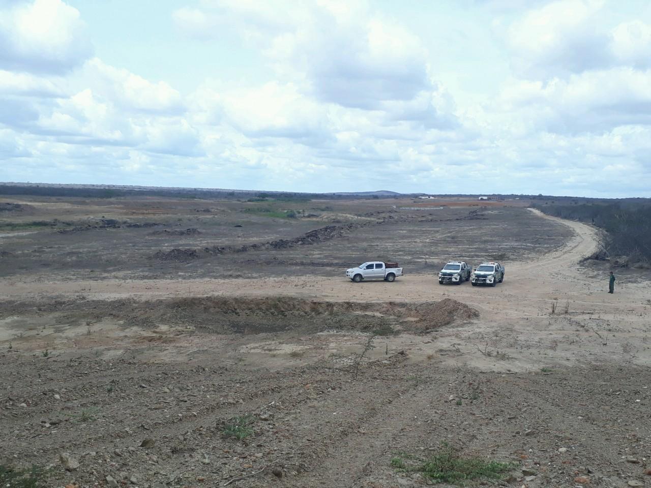 IBAMA detecta 287 hectares de área desmatada no bioma caatinga na Paraíba