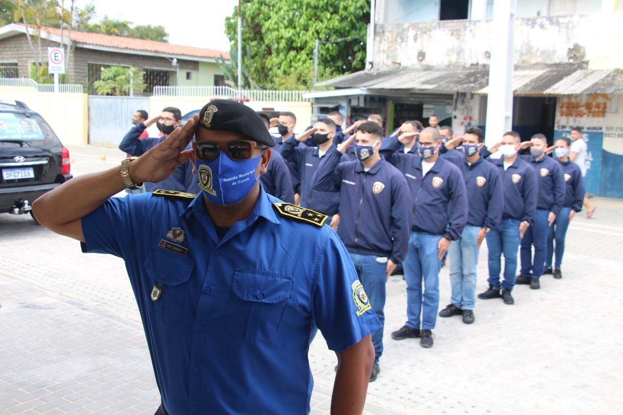 Posse Guardas Municipais 17 - Prefeitura de Conde dá posse a 20 novos agentes da Guarda Municipal