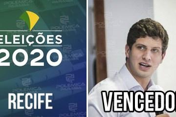 Recife João Campos 1 - ELEIÇÕES 2020: João Campos é eleito o prefeito de Recife-PE