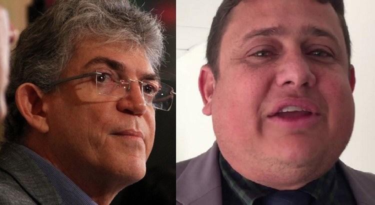 Ricardo Coutinho Walber Virgulino - Determinação da justiça: Ricardo Coutinho deve pagar multa de R$ 5 mil por vídeo em que ofende Wallber Virgolino