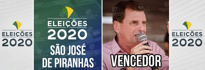 São José de Piranhas Chico Mendes - Chico Mendes é reeleito prefeito de São José de Piranhas