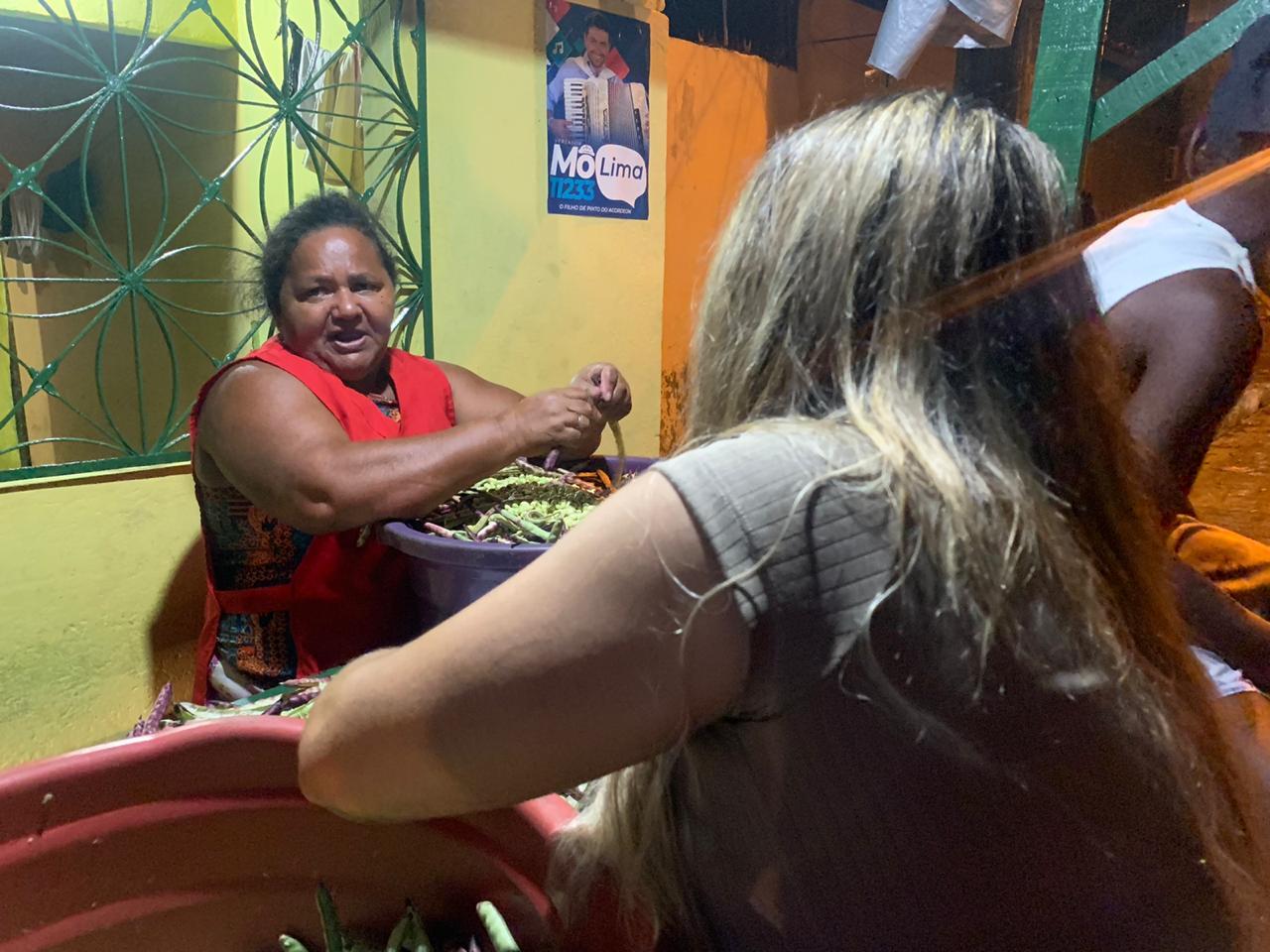 WhatsApp Image 2020 11 05 at 21.43.01 - Se recuperando de uma crise de cálculo renal, Nilvan Ferreira envia esposa para cumprir sua agenda de campanha