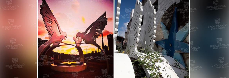 WhatsApp Image 2020 11 13 at 11.22.02 - 'A MINHA OBRA É DA PAZ': artista plástico Marcos Pinto critica PMJP e pede restauração da obra 'Aves de Arribação'; VEJA VÍDEO