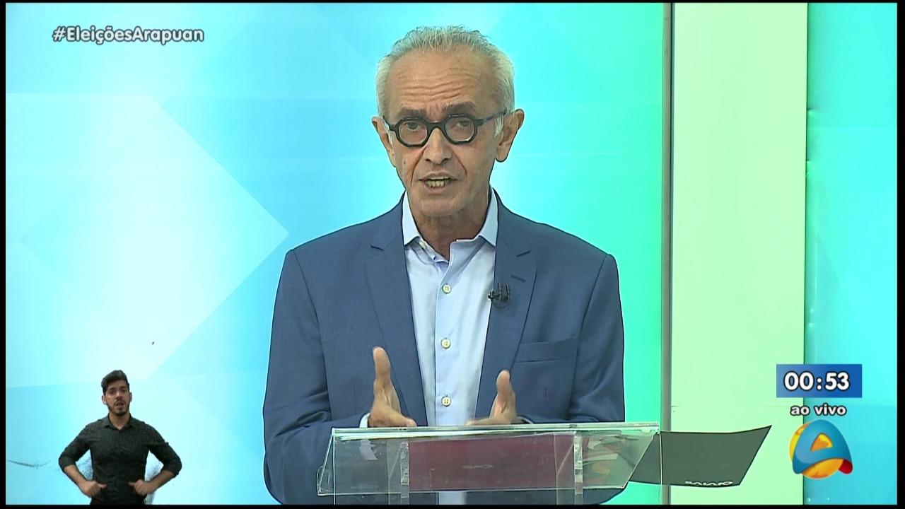 WhatsApp Image 2020 11 17 at 21.58.10 - Debate TV Arapuan: Cícero apresenta caminho seguro, inovador e equilibrado para cuidar de João Pessoa