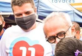Senador Diego Tavares destaca experiência de Cicero Lucena: 'fundamental para a nossa cidade'
