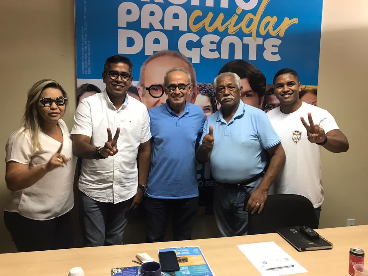 WhatsApp Image 2020 11 21 at 15.58.18 - Emano Santos e João dos Santos declaram apoio a Cícero Lucena no segundo turno da capital