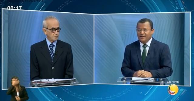 WhatsApp Image 2020 11 21 at 21.18.29 - DEBATE CORREIO: Nilvan promete 'vale gás' do Bolsa Família e Cícero critica suposta 'autopromoção' do oponente