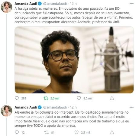a reporter do the intercept brasil amanda audi acusou professor de estupro 1604494783432 v2 450x450 - Amanda Audi, jornalista do The Intercept Brasil, acusa professor da UnB de estupro