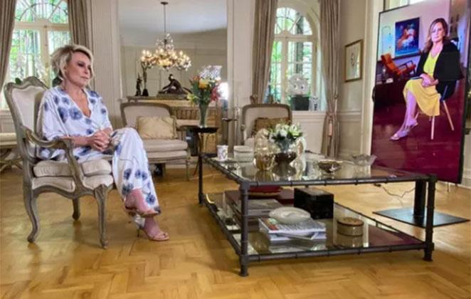 ana maria entrevista 389260 36 - Ana Maria Braga sobre Tom Veiga: ' Sofria muito por amor'