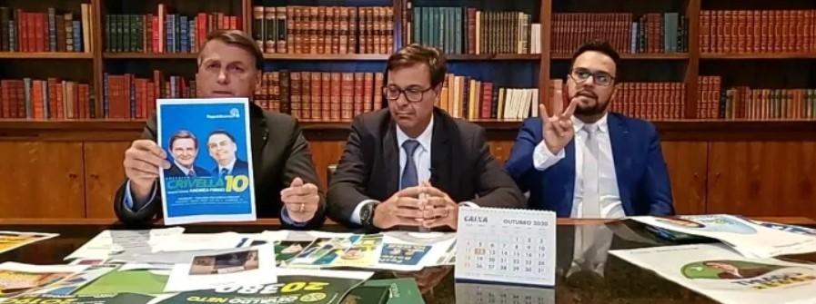 apoio bolsonaro - Bolsonaro anuncia apoio a candidatos a prefeito e ignora João Pessoa