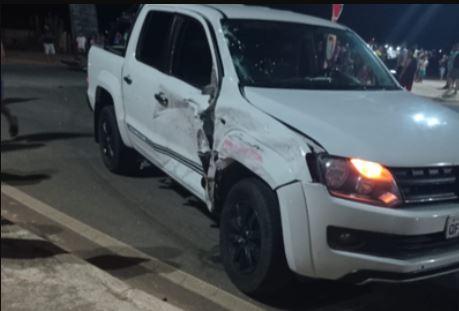 caminhonete - Empresário morre após colidir com moto, no interior da Paraíba
