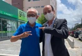 Vereador de João Pessoa, Durval Ferreira declara apoio a Cícero Lucena no 2º turno